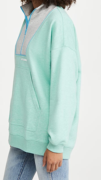 New Balance Staud 绒布套头衫