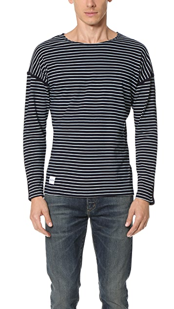 Native Youth Bound Breton Stripe Long Sleeve Tee
