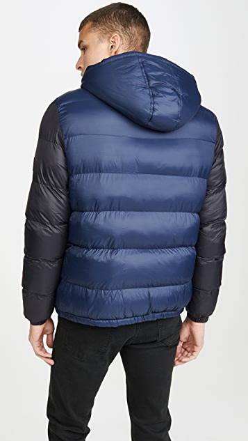 Native Youth Cinder Nylon Puffer Jacket