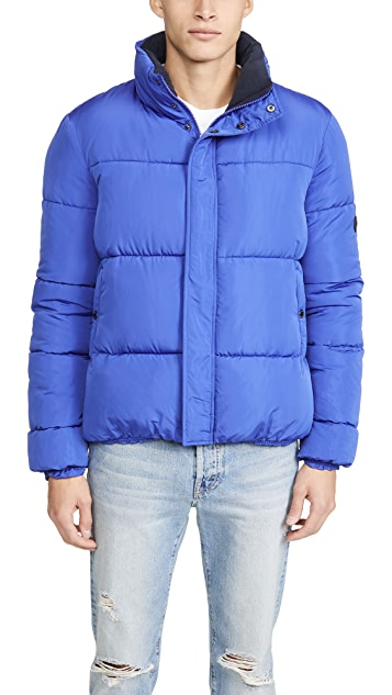 Native Youth Pioneer Nylon Puffer Coat
