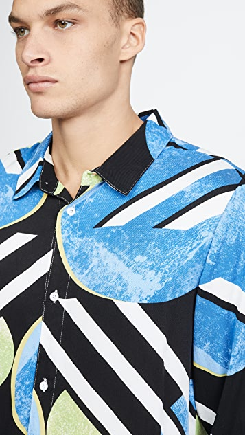 Native Youth Kandinsky Allover Print Shirt