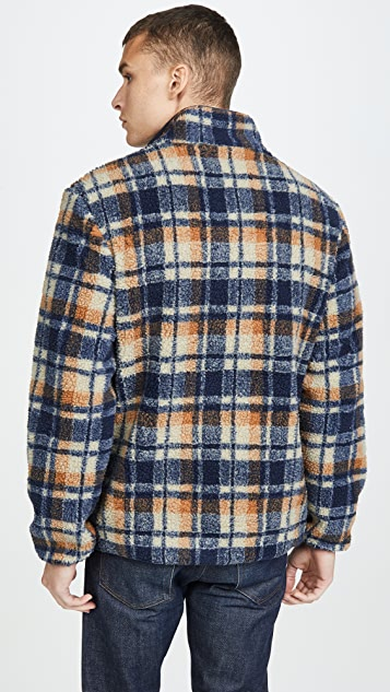 Native Youth Rime Check Fleece Jacket
