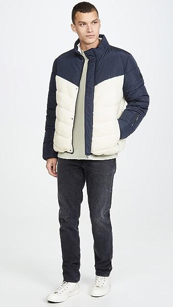 Native Youth Gotland Two Tone Puffer Jacket