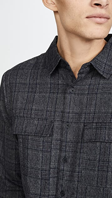 Native Youth Umbra Yarn Dyed Shirt