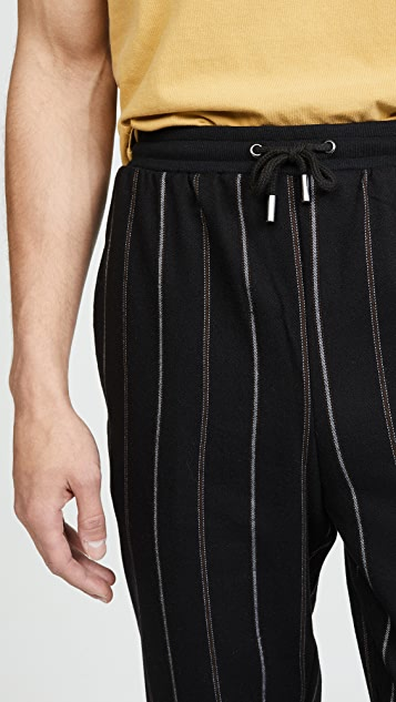 Native Youth Furrow Yarn Dyed Trousers