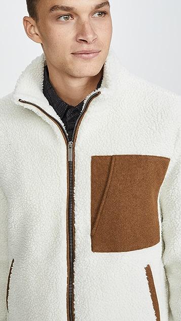 Native Youth Cheviot Sherpa Jacket