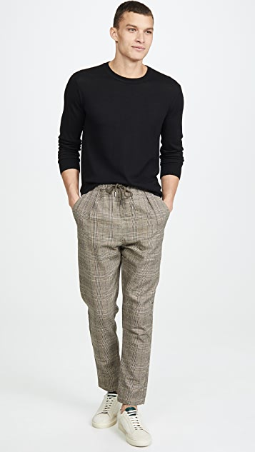 Native Youth Wicker Plaid Trousers