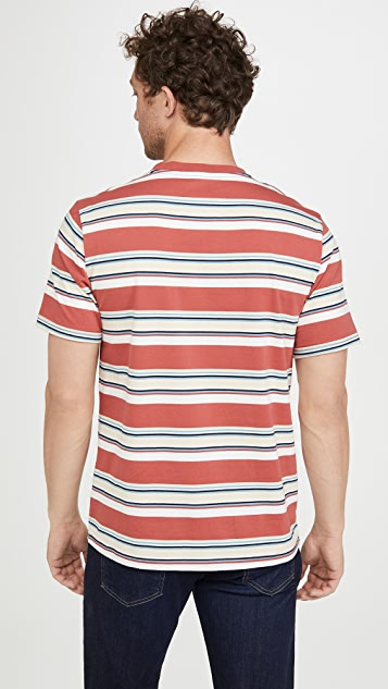 Native Youth Short Sleeve Multi Stripe T-Shirt