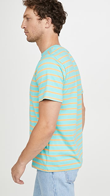 Native Youth Yarn Dye Multi Stripe Jersey T-Shirt