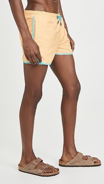 Native Youth Contrast Swim Shorts