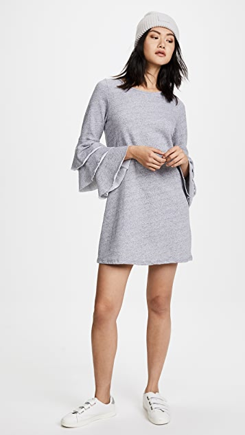 NYTT Charlotte Triple Tier Sleeve Dress