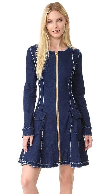 Natasha Zinko Denim Mini Dress