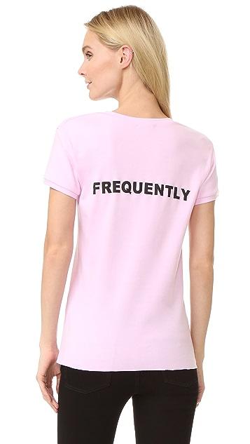 Natasha Zinko Lovely Frequently T Shirt