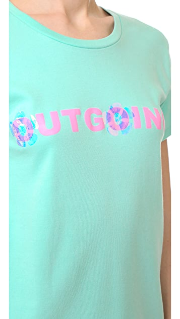 Natasha Zinko Outgoing Sometimes T Shirt