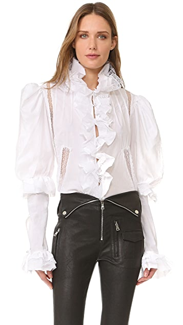 Natasha Zinko Long Sleeve Blouse