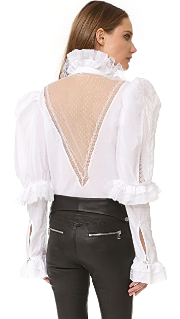 Natasha Zinko Long Sleeve Blouse