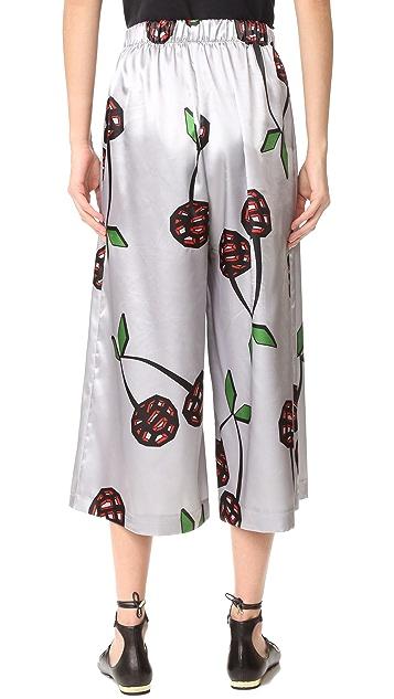 Natasha Zinko Cherry Pants