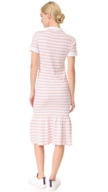 Natasha Zinko Short Sleeve Striped Dress