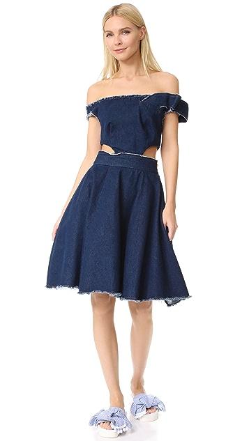 Natasha Zinko Twisted Ribbon Dress