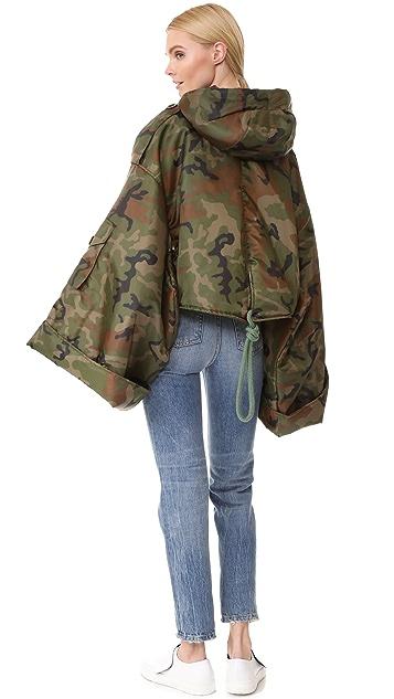 Natasha Zinko Printed Padded Short Jacket
