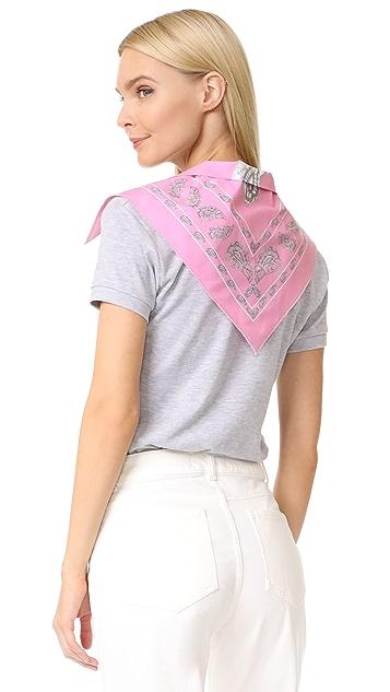 Natasha Zinko Bandana Trim T Shirt