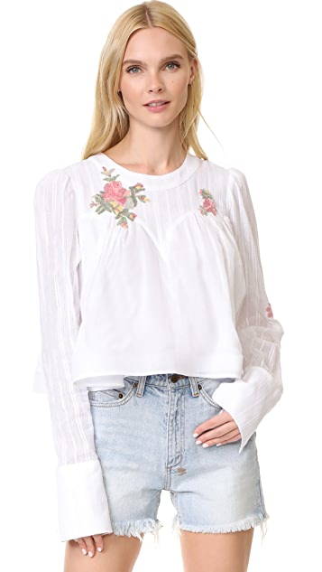 Natasha Zinko Cotton Blouse