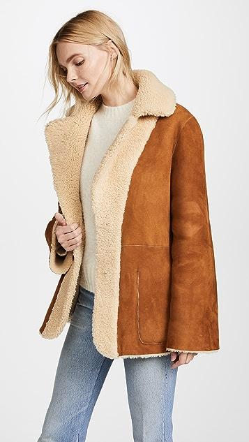 Natasha Zinko Reversible Shearling Jacket