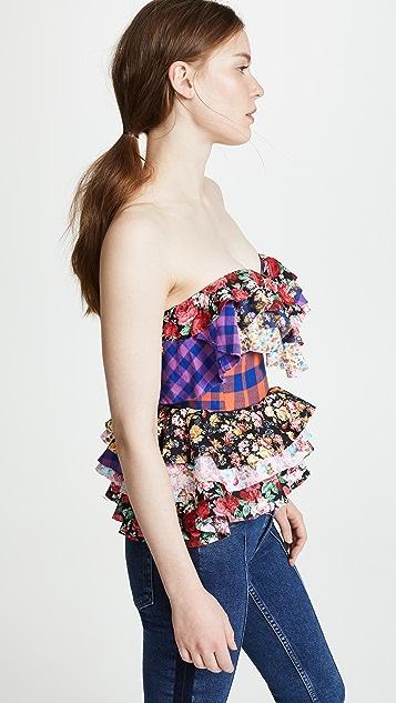 Natasha Zinko Floral Cotton Corset