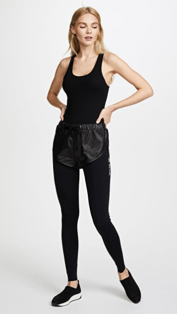 Natasha Zinko Layered Shorts Leggings