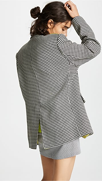 Natasha Zinko Wool Oversized Blazer