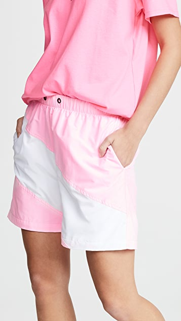 Natasha Zinko Colorblock Shorts
