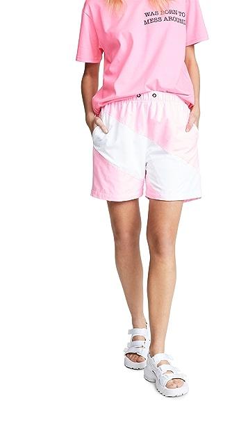 Natasha Zinko Colorblock Shorts