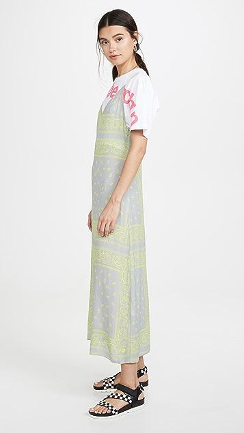 Natasha Zinko T 恤印花长款衬裙