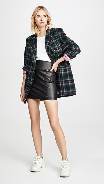 Natasha Zinko Oversized Plaid Jacket