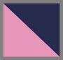 粉色/海军蓝