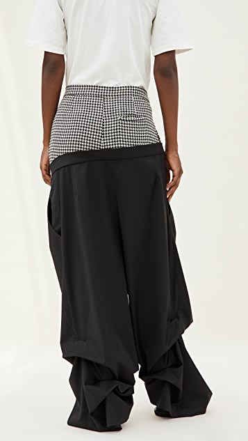 Natasha Zinko Double Trousers
