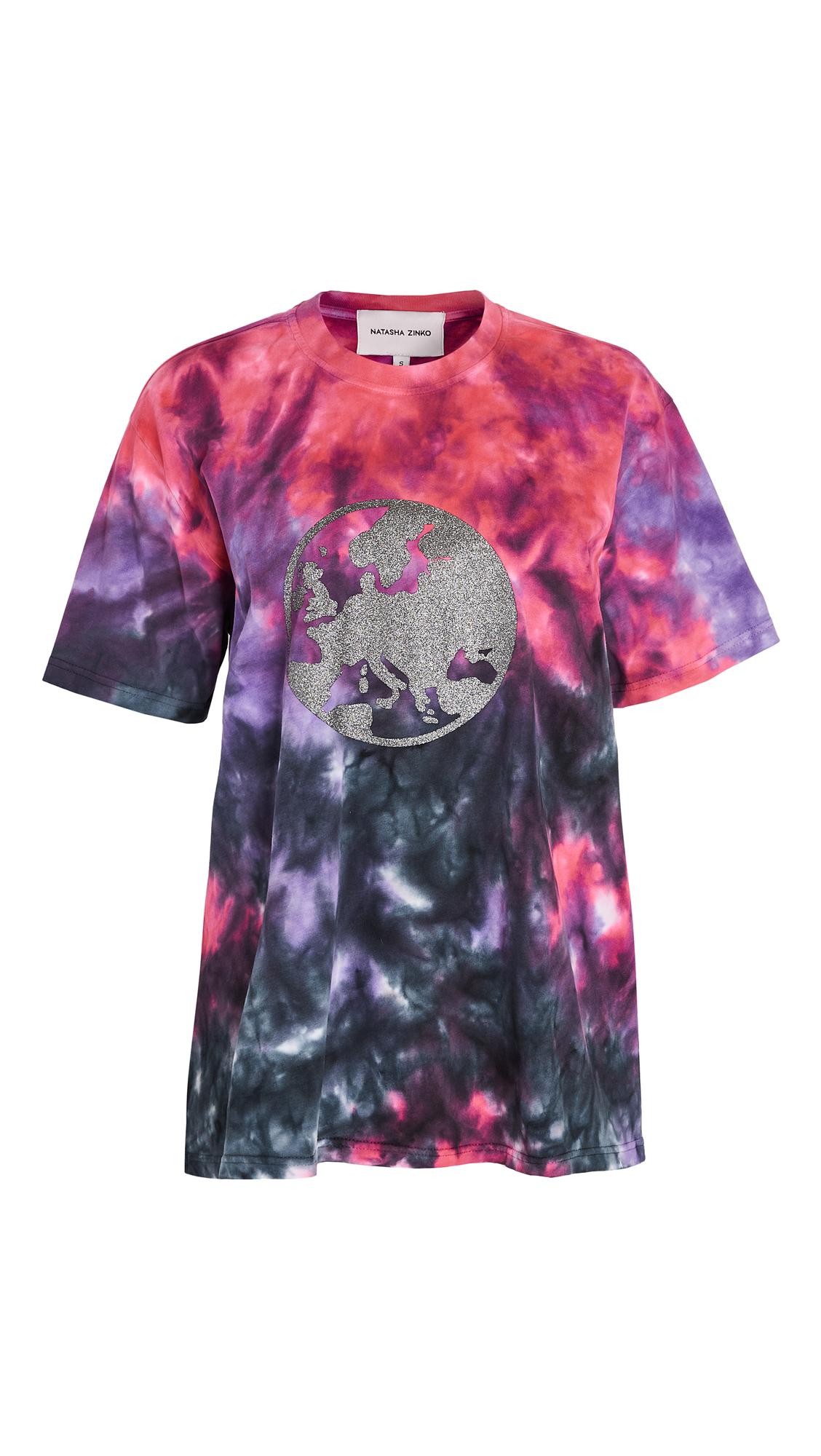 Natasha Zinko Multicolour Oversized T-Shirt