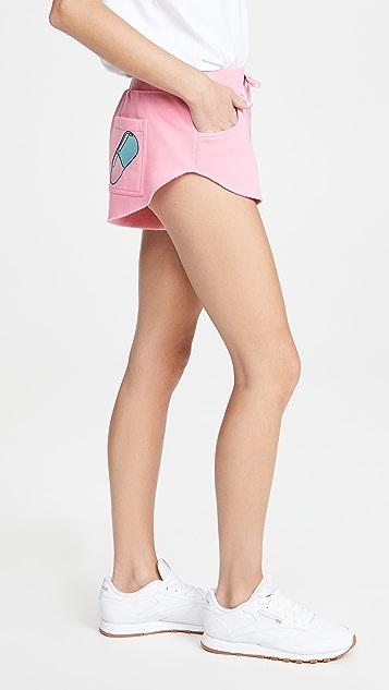 Natasha Zinko 平纹针织刺绣慢跑短裤