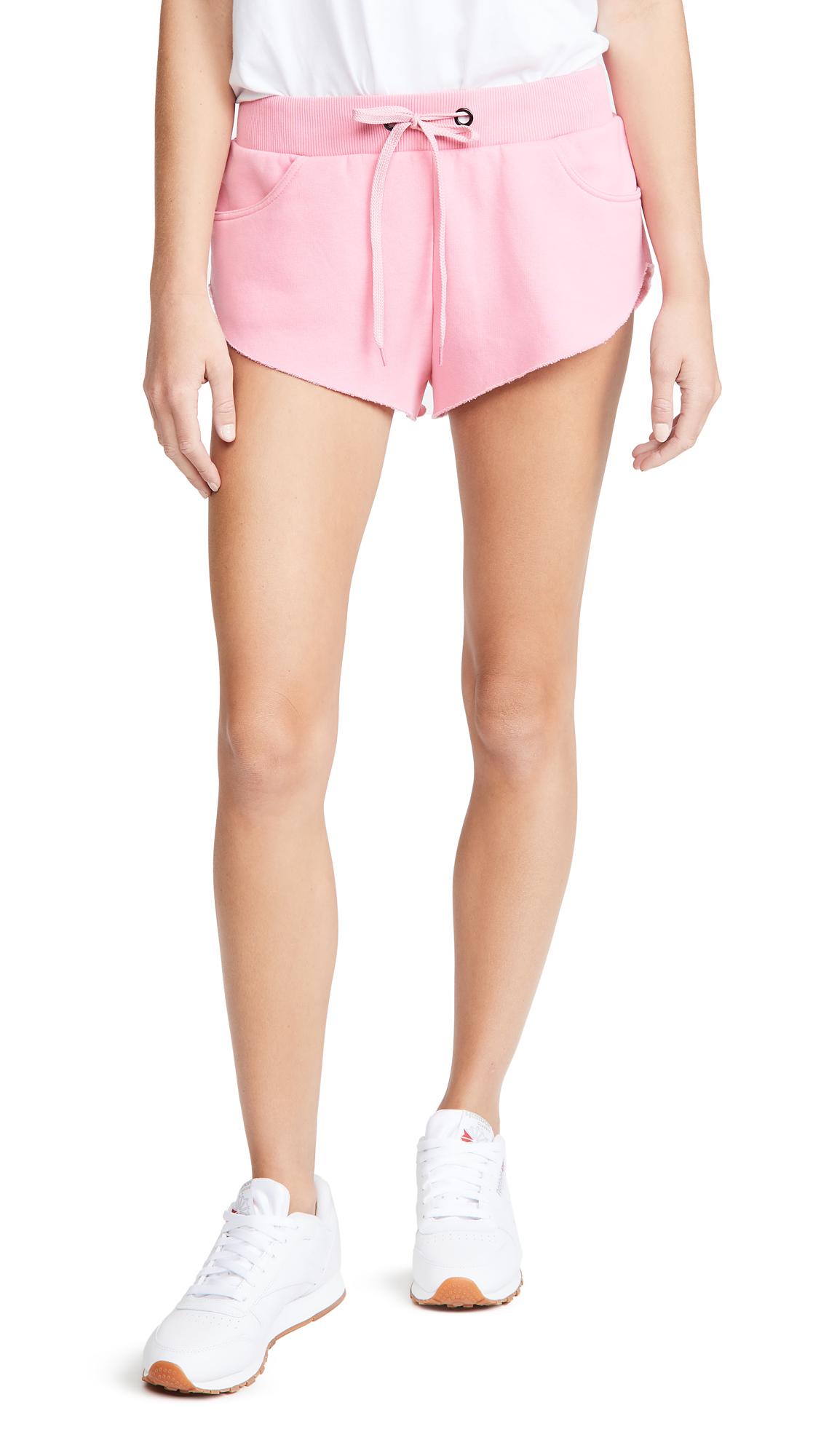 Natasha Zinko Jersey Jogging Embroidered Shorts