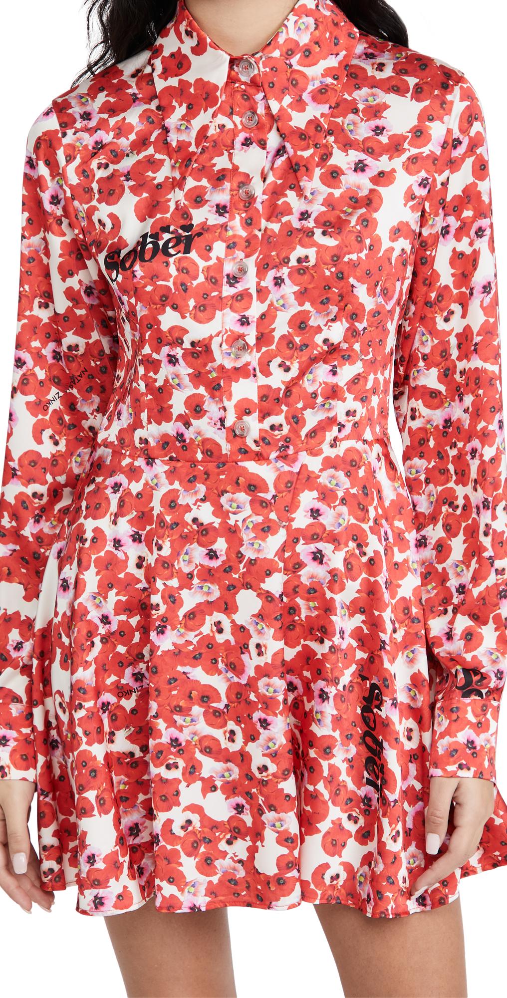 Natasha Zinko Long Sleeve Dress