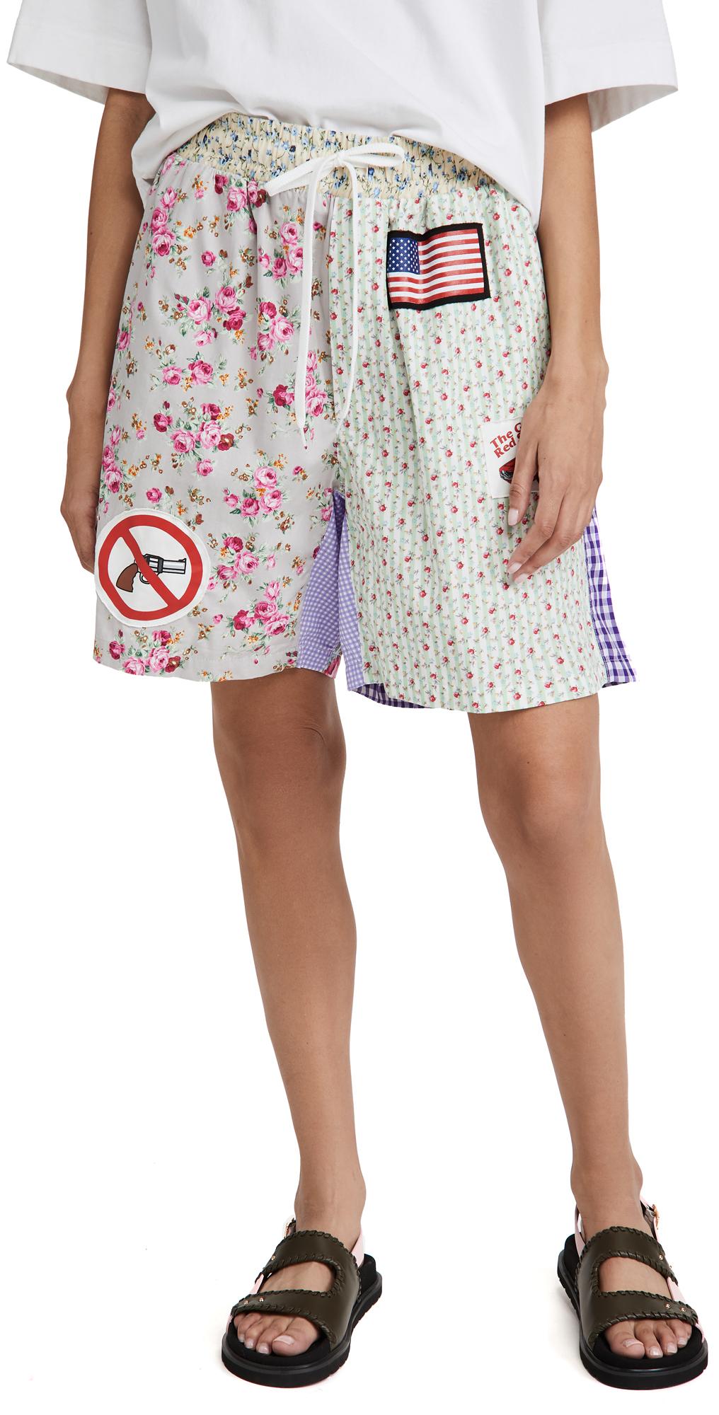 Natasha Zinko Pattern Shorts
