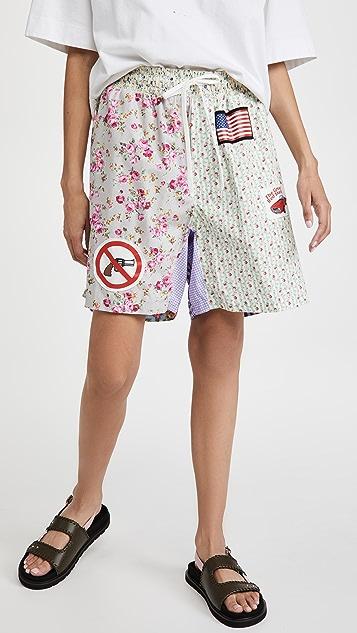 Natasha Zinko 图案短裤