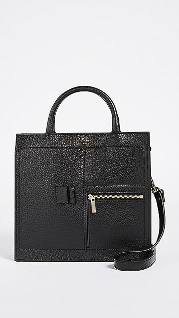 OAD Mini Kit Zip Satchel - Black