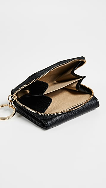 OAD Mini Zip Around Wallet