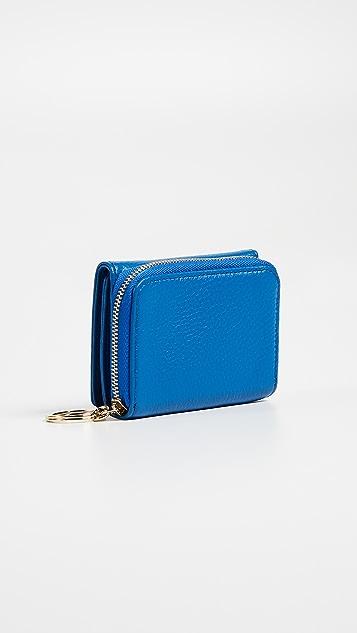 OAD Mini Zip Around Wallet