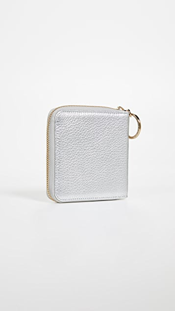 OAD Half Zip Around Wallet