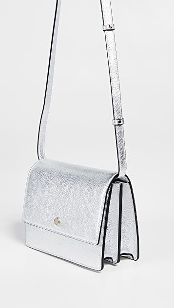 Silver Mini Messenger Cross Body Bag | SHOPBOP