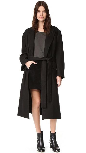 Oak Belted Overcoat