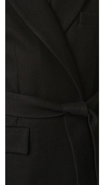 дуб Пальто с поясом