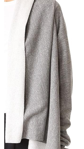 Oak Long Sleeve Wrap Cardigan